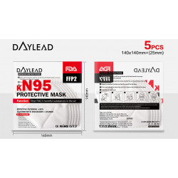 DAYLEAD Respirator KN95...