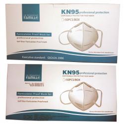 KN95 Máscara facial de...