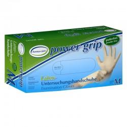 Rękawice lateksowe do badań